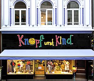 Das Geschäft für Kindermoden in Bonn: Knopf und Kind.