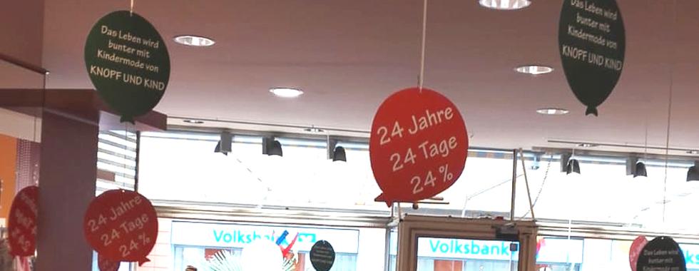Unser Laden in der Bürgerstraße 6 in Bonn.