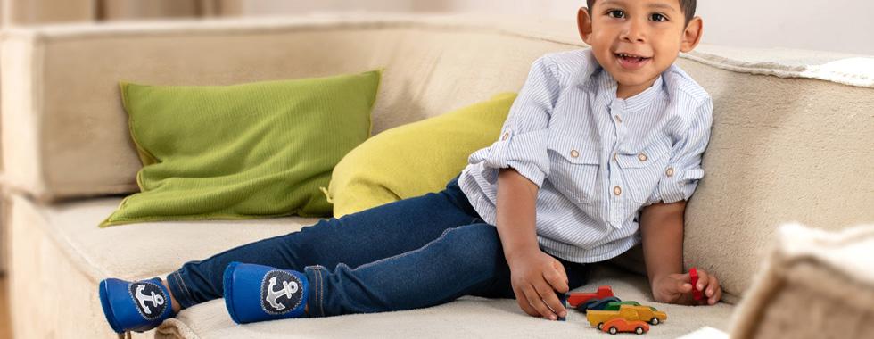 Ökologisch hergestellte Kinderschuhe